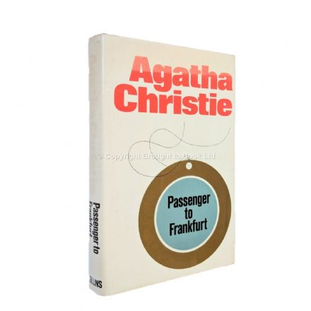 Passenger to Frankfurt by Agatha Christie First Edition Published The Crime Club by Collins 1970